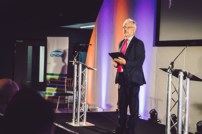 Professor Trevor McMillan, Vice-Chancellor of Keele University