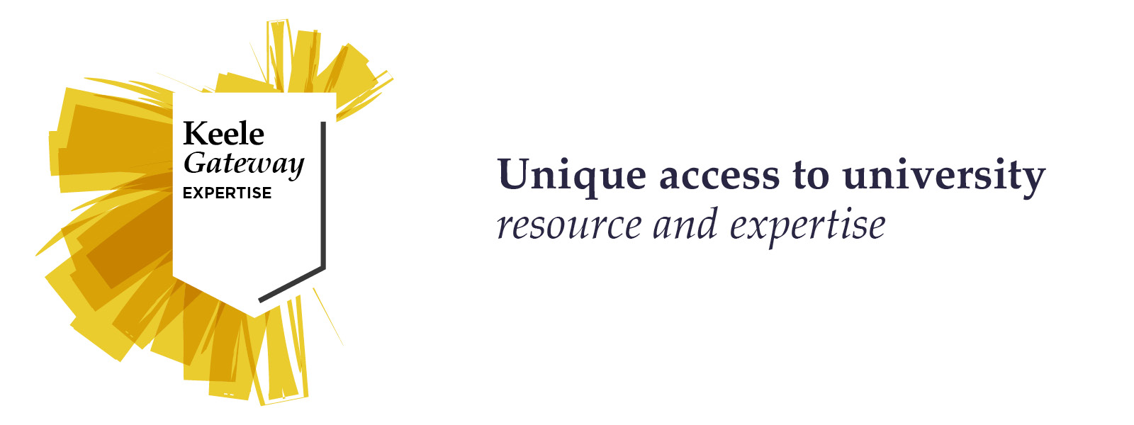 Keele Gateway Expertise, unique access to university resources and expertise