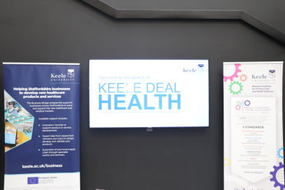 Keele Deal | Health was launched on 20 November 2019