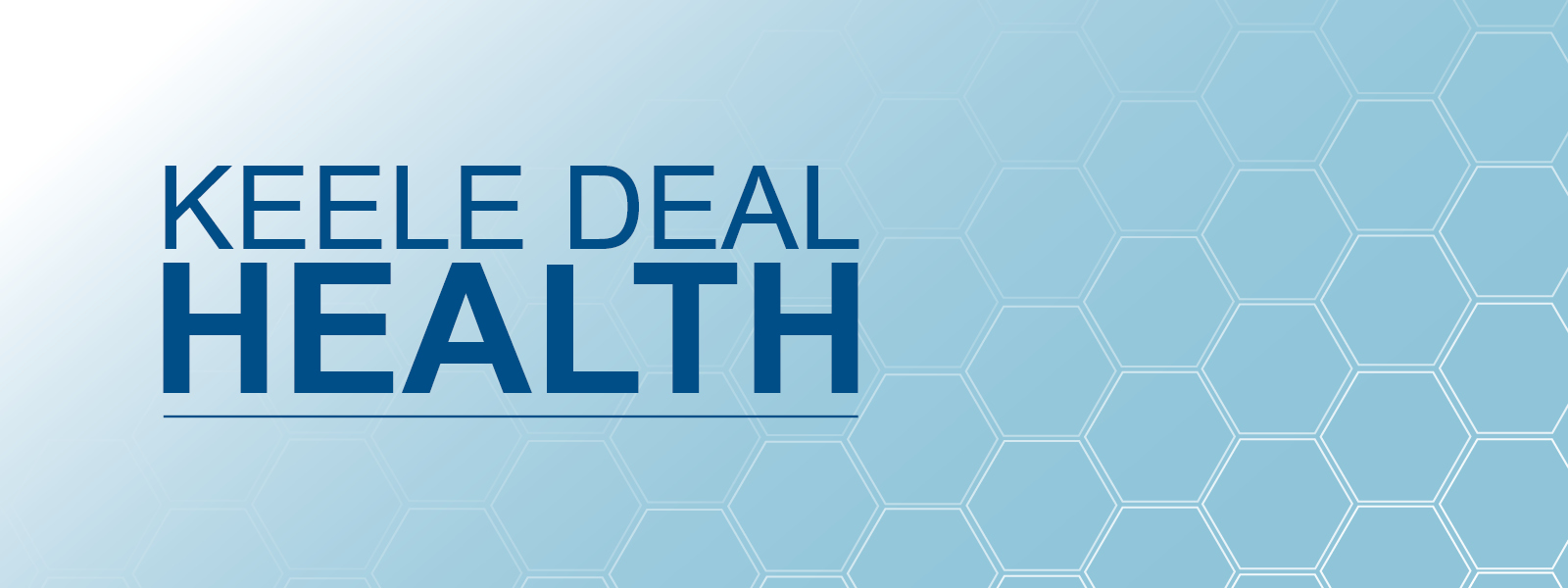Keele Deal | Health