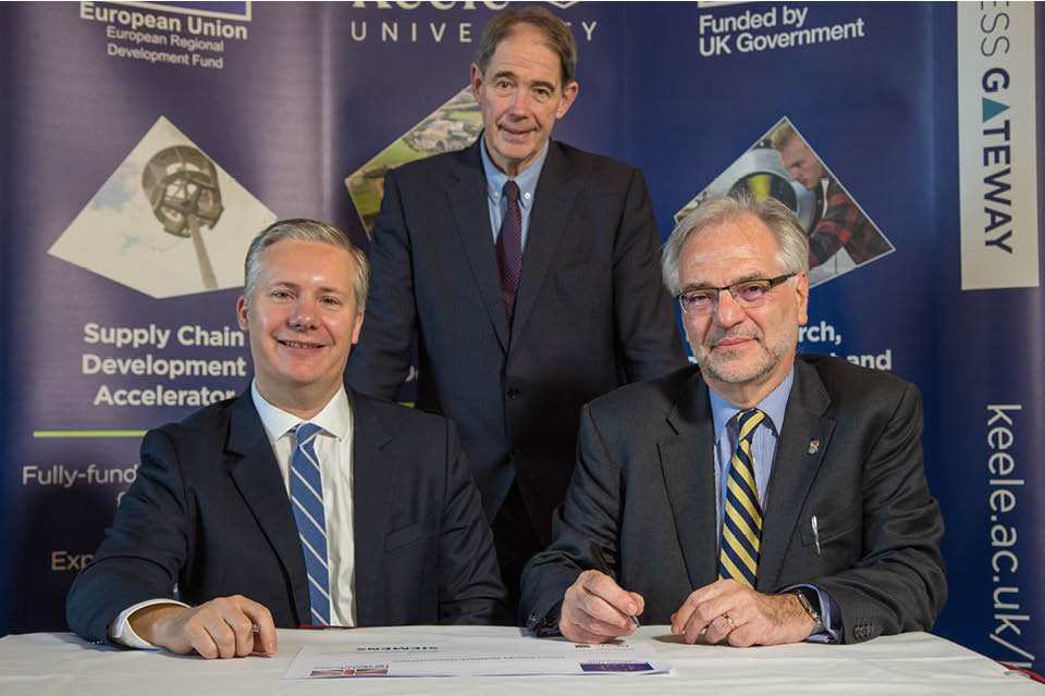 Keele University and Siemens in landmark energy partnership
