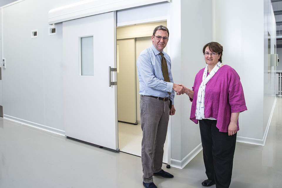 Polyflon launches its second clean room with support from Keele