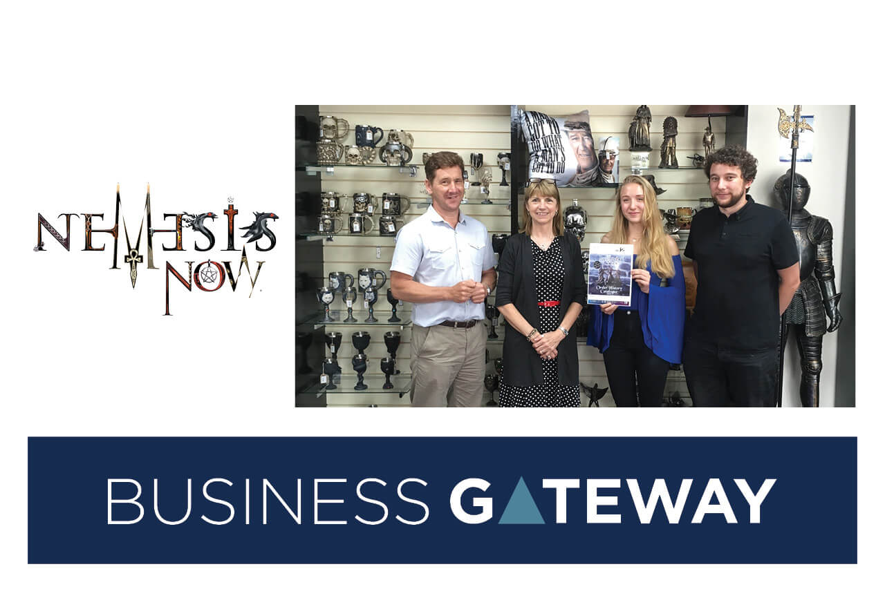 Gothic and fantasy giftware company utilises Keele University business support to boost growth