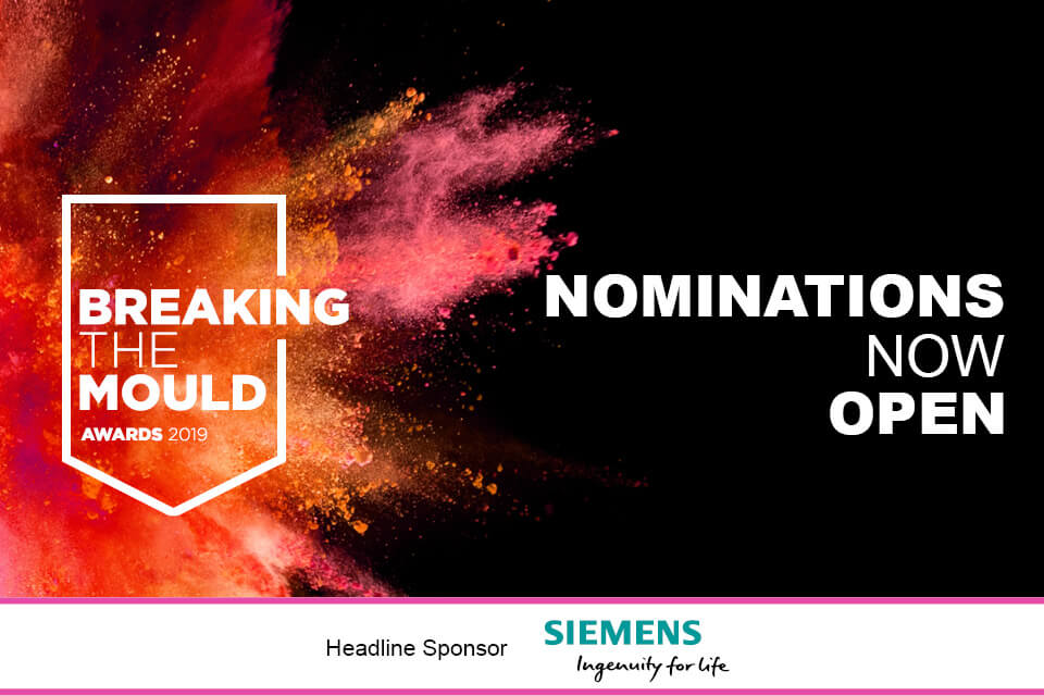 Breaking the Mould | Nominations now open