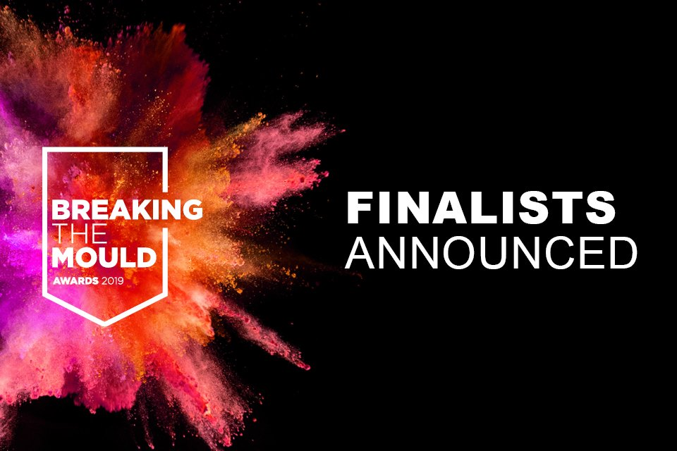 Breaking the Mould finalists announced