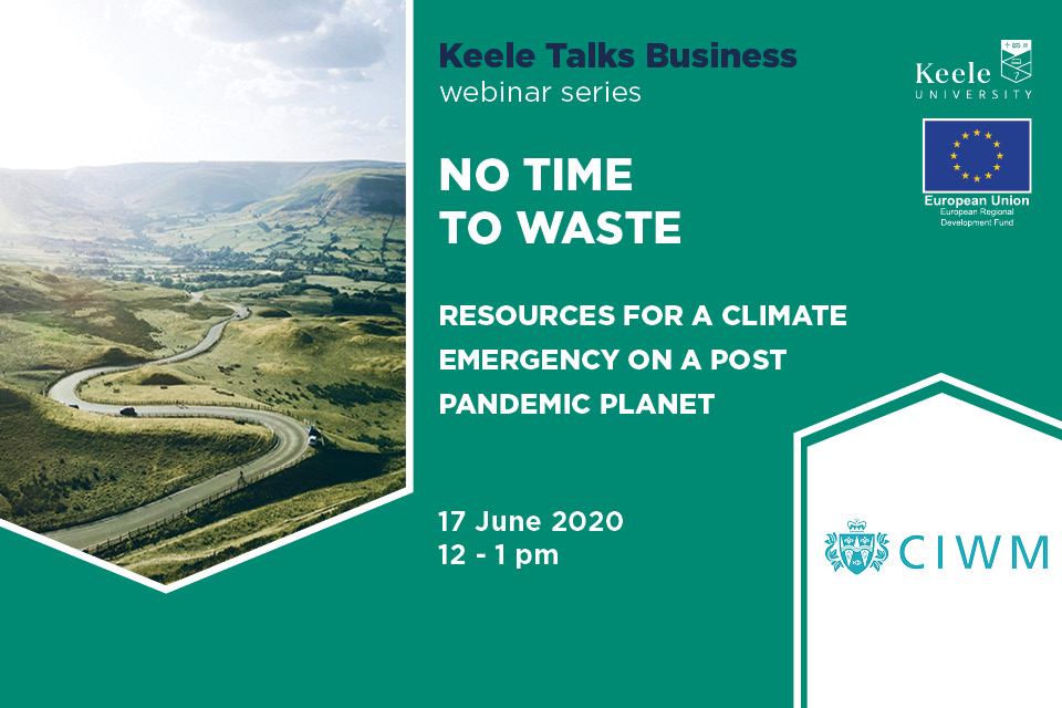 No Time to Waste - Resources for a Climate Emergency on a Post Pandemic Planet