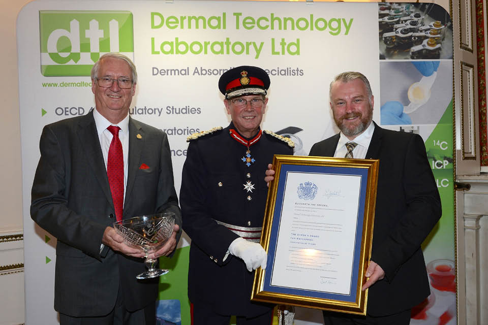 Keele University Science and Innovation Park company receives Royal accolade