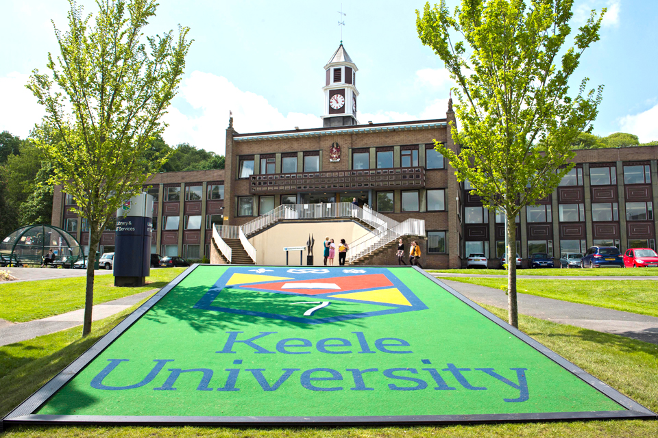 Spalding University Campus Map.Keele University How To Find Us