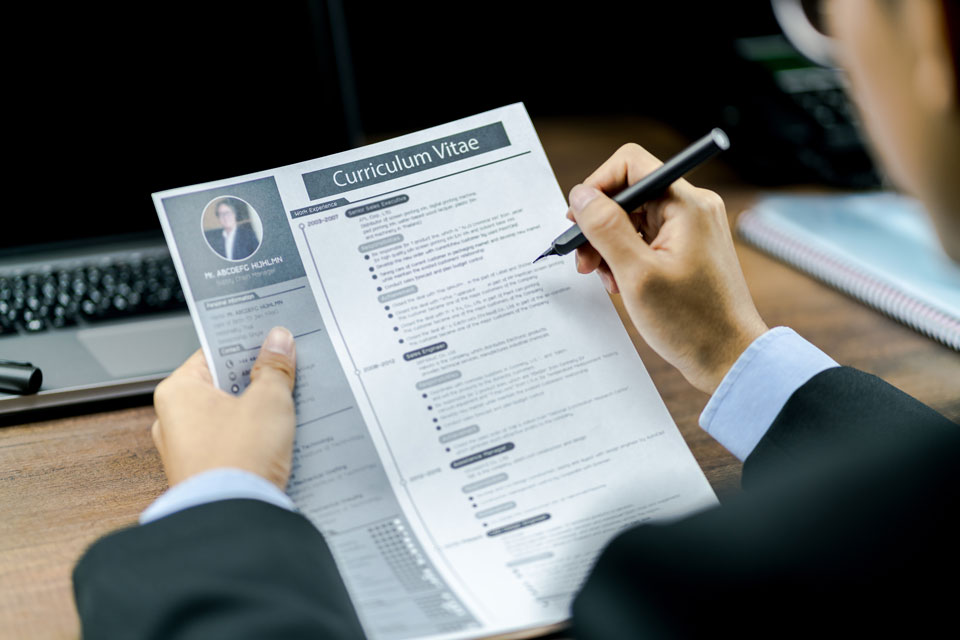 What employers want in a CV
