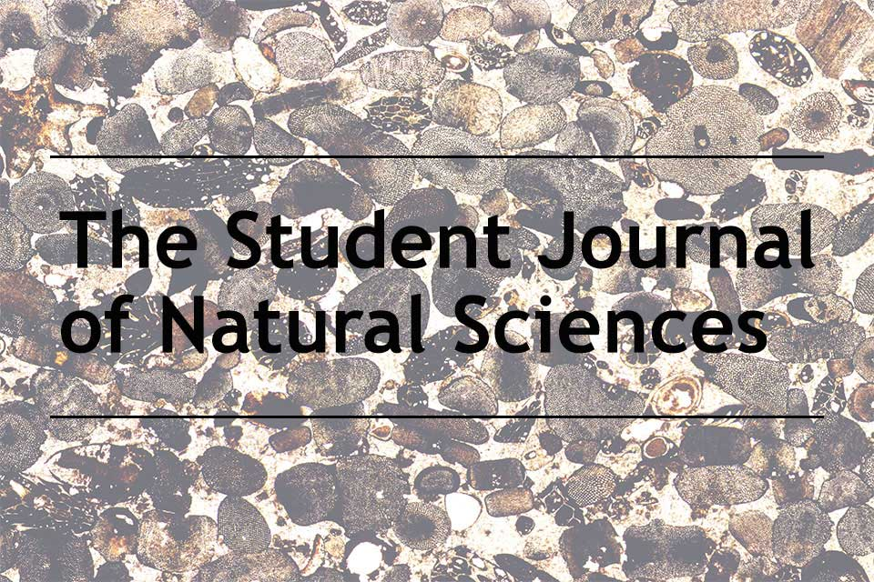 Student Journal of Natural Sciences accepts first articles for publication