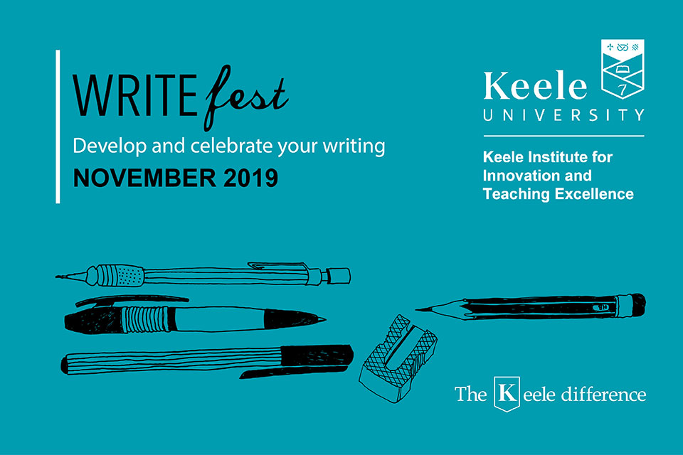 Develop and celebrate your writing at WriteFest 2019