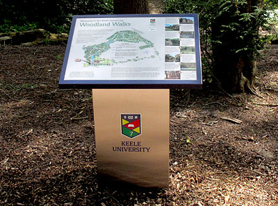 woodland walks map