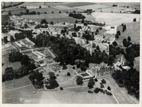 University College of North Staffordshire (UCNS), aerial view, 1950s