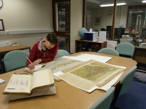 Special Collections and Archives searchroom