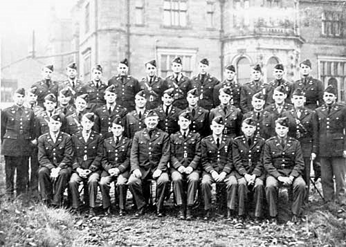 Officers of US Third Army at keele 1943