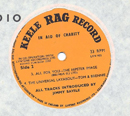 1965 Rag Record No 2 Orange Side 2 close-up