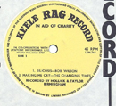 1965 Rag Record No 1 Yellow Side 1 close-up
