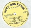 1965 Rag Record No 1 Yellow Side 2 close-up