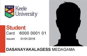 Students - Request a replacement Keele Card