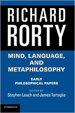 Richard Rorty Early Philosophical papers