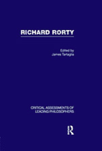 Rorty book cover