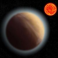 Jordlignende planet med atmosfære