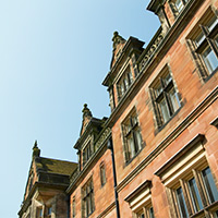 Keele Hall closeup