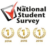 2016 NSS results - first for student satisfaction again