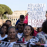 refugees in Rome