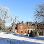 keele hall in snow