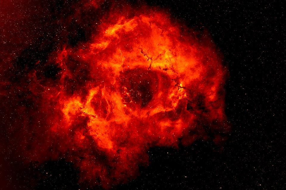 New models give insight into the heart of the Rosette Nebula
