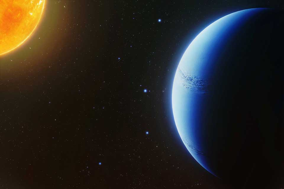 Astronomers find an exoplanet atmosphere free of clouds