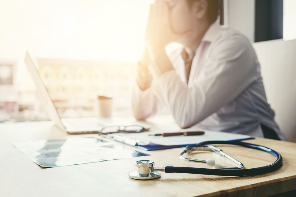Burnout in doctors has shocking impact on care