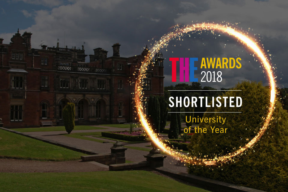 Keele shortlisted for 'University of the Year'