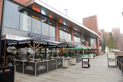 Hanley, Intu Potteries - shopping centre and food court
