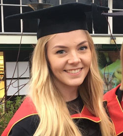 Hannah Warrener - Geoscience Research Graduate