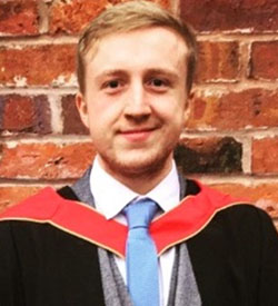 Luis Rees-Hughes - Geoscience Research Graduate