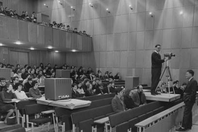 Foundation Year lecture (Professor Ingram) 1966