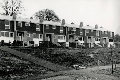 Staff houses at Horwood 1964