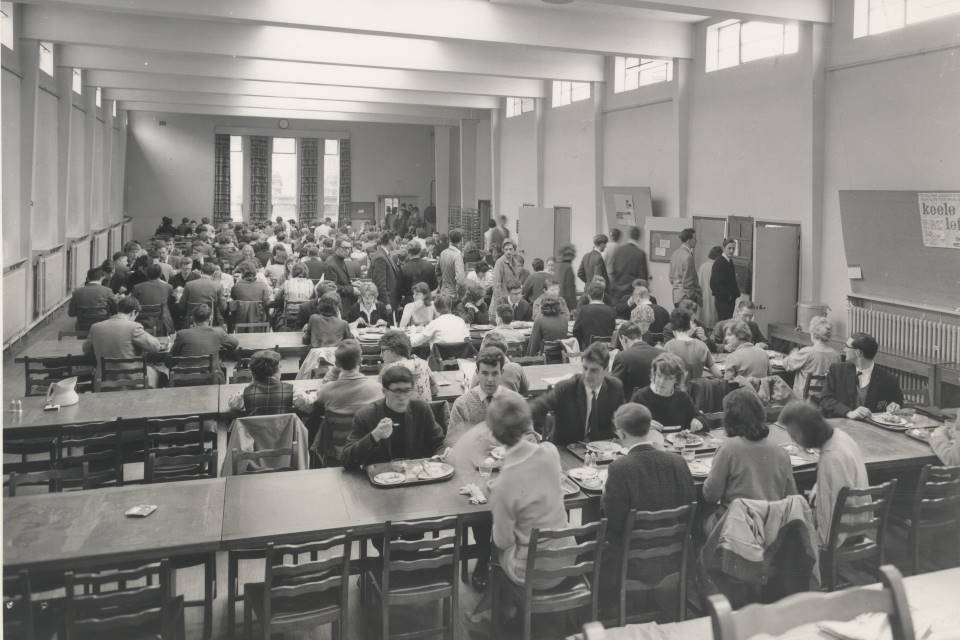 Refectory in 1960s