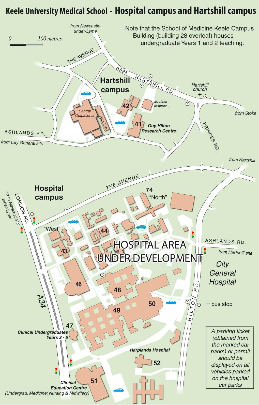 Keele University Map Keele University   Maps Keele University Map