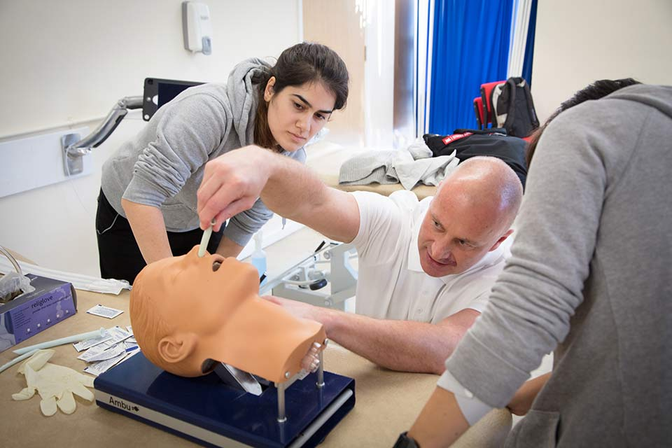 Keele Top 10 in UK for Health Professions