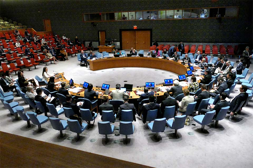 Climate change is a security threat – so where is the UN Security Council?