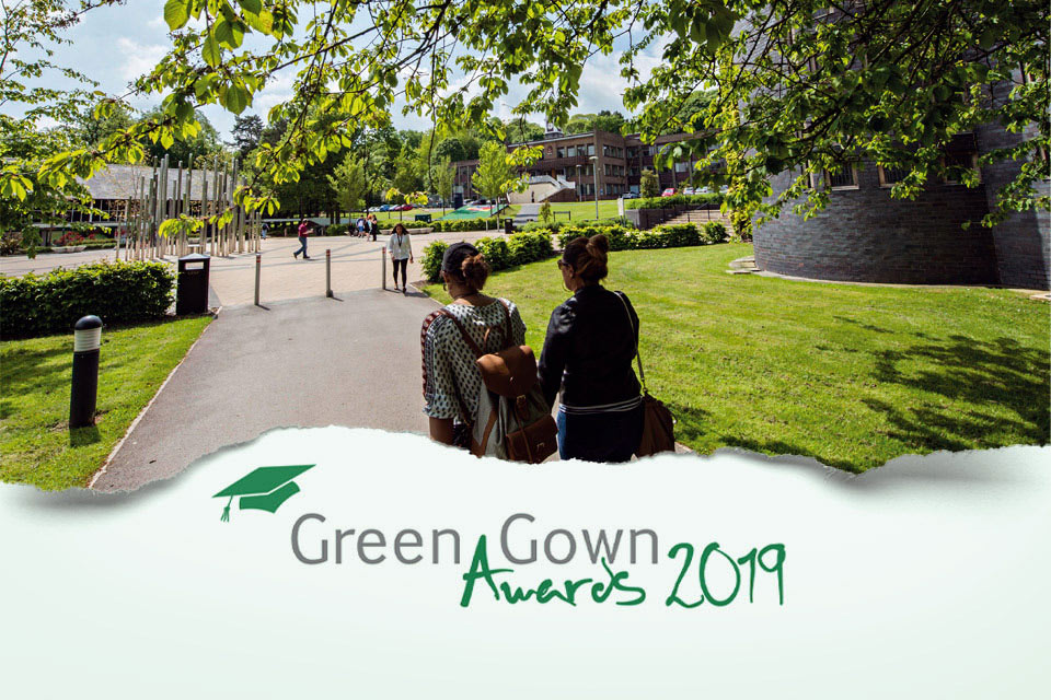 Keele University celebrates record number of Green Gown Award nominations