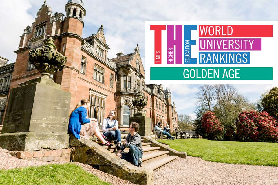 Keele climbs in Global Top 100 'Golden Age' universities ranking