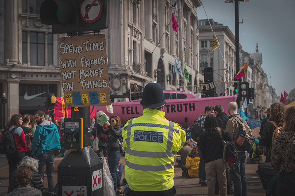 Comment | Extinction Rebellion: 'terror threat' is a wake-up call for how the state treats environmental activism