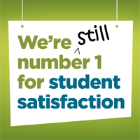 Still number 1 for student satisfaction