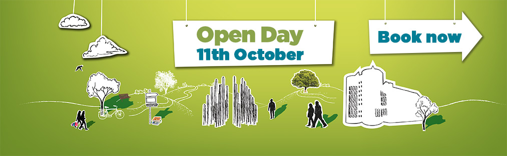OCTOBER Open day banner