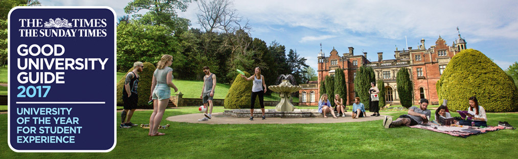 Keele named University of the Year for Student Experience
