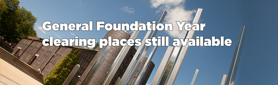 General Foundation Year Clearing places still available